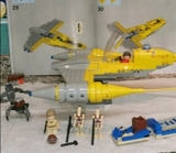 Nave star wars lego naboo starfighter - foto