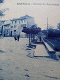 Postal antigua Estella - foto