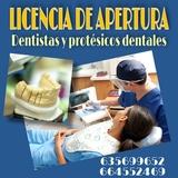 Licencia apertura dentistas y protesicos - foto