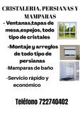 CRISTALERÍA Y MAMPARAS  - foto