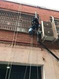 Trabajos verticales, en altura, descuelg - foto
