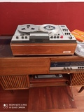 radio tocadiscos más magnetófono - foto