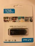 PENDRIVE USB 128GB MARCA PNY. PRENCITADO