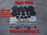 Pack Fitness 90kg (Envío incluido). - foto