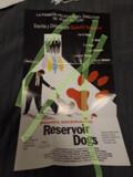 RESERVOIR DOGS CARTEL CINE PELíCULA