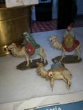 Figuras de belén de Ortigas - foto