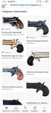 Pistola fogueo derringer - foto