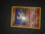 Carta de Pokemon Ponyta 1995-1999 - foto