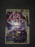 Carta Pokemon Palkia y dialga legend. - foto