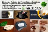 Diseño de tarjetas de presentación - foto