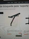 SOPORTE DE PARED SACO BOXEO ACERO - foto