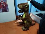 vendo peluche de dinosaurio grande - foto