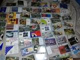 antiguas tarjetas telefónicas años 90 - foto