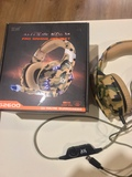 Cascos Gaming Camuflaje Micro y Leds - foto