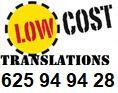 GRANADA TRADUCCIONES 625 949 428 24H - foto