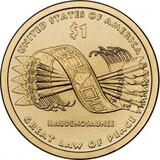 Usa 2010 american native sin circular - foto
