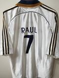 REAL MADRID 1998-1999 RAÚL 7 XL - foto