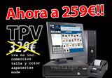 OFERTA TPV HASTA FIN DE STOCK TÁCTIL - foto