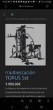 maquina multifuncion tourus 5 - foto