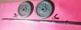 Barra + discos ( total 26 kilos ) - 28mm - foto