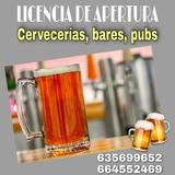 Licencia Actividad CERVECERÍAS, BARES... - foto