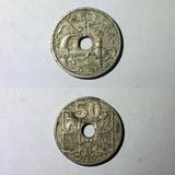 50 céntimos de peseta Franco 1949 - foto