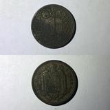 1 peseta 1944 Águila Franquista - foto