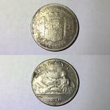 5 pesetas Gobierno Provisional 1870 - foto