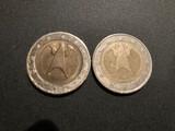 Moneda de 2 euros alemania con errores - foto