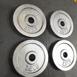 4 Discos 2.5 KILOS -10 KILOS - 30mms - foto