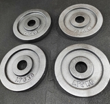 4 Discos 1.75 Kilos- TOTAL 7 KILOS- 30mm - foto