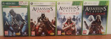 Lote 4 juegos Assassins Creed - foto