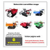 CARRETILLAS ORUGA SOLUCION AL ESFUERZO - foto