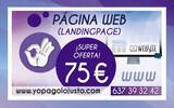 DISEÑO PAGINA WEB TIENDA ONLINE BARATO - foto
