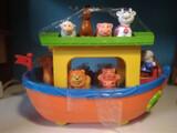 Barco didáctico de juguete - foto
