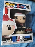 figura Funko Pop Renji bleach nuevo - foto