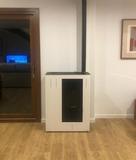 instalaciones de estufas de biomasa - foto