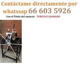 TORCULO GRABADO CON ASPAS + REDUCTOR - foto