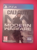 Call of duty modern warfare ps4 - foto