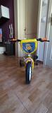 Bicicleta niño minions como nueva - foto