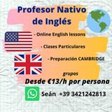 PROFESOR NATIVO DE INGLÉS - foto