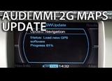 Dvd gps audi mmi - a4 a5 a6 a8 q7 (2g) - foto