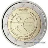 moneda 2 euros - foto