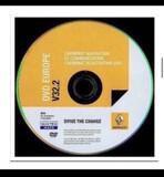 DVD RENAULT CARMINAT V32.2 - CD V34 - foto