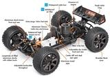 Reparación de coches de radiocontrol - foto