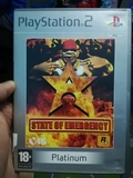 Juego ps2  state of emergency - foto