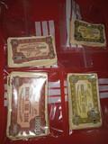 Billetes Monopoly año 1962 - foto