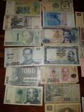 Billetes antiguos. - foto