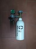 botella portátil oxigeno - foto
