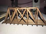 Puente de madera escala N - foto